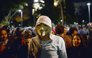 MEXICO-GUY FAWKES-PROTEST